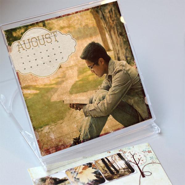 CD Case Calendar